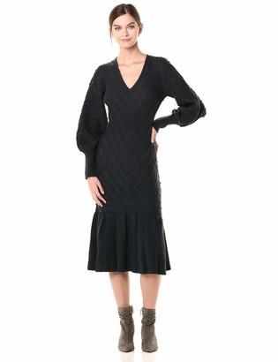Keepsake Women's Melody Sweater Knit Fashion MIDI Dress