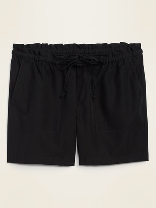 Old Navy High-Waisted Soft-Woven Plus-Size Shorts -- 7-inch inseam