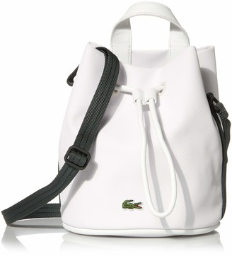 Lacoste Womens Small Court Line Bucket Bag
