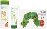 Green Baby Episencial Skin Care Set & The Very Hungry Caterpillar Playful Wash & Soothing Cream