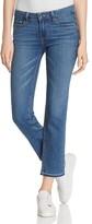Paige Jacqueline Cropped Straight Leg Jeans