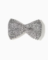 Charming charlie Tweed Bow Hair Clip