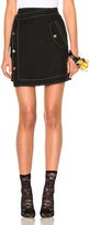 Loewe Gold Button Mini Skirt