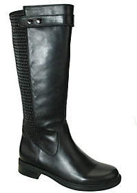 David Tate Leather Riding Boots - Avery 18