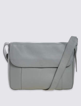 M&S CollectionMarks and Spencer Leather Soft Messenger Bag