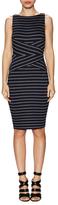 Bailey 44 'Sudden Death' Striped Jersey Sheath Dress