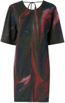 OSKLEN printed straight dress - women - Viscose - P