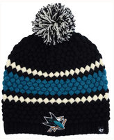 '47 Women's San Jose Sharks Leslie Pom Knit Hat