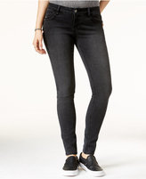 Rampage Juniors' Sophie Lace-Up Super Skinny Jeans