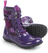 Bogs Footwear Sidney Lace Posey Rain Boots - Waterproof, Insulated (For Big Girls)
