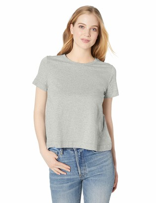 Daily Ritual Amazon Brand Women's Lightweight Lived-In Cotton Short-Sleeve Swing T-Shirt