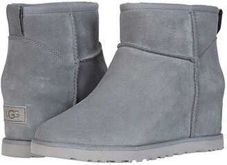 UGG Classic Femme Mini (Black) Women's Cold Weather Boots