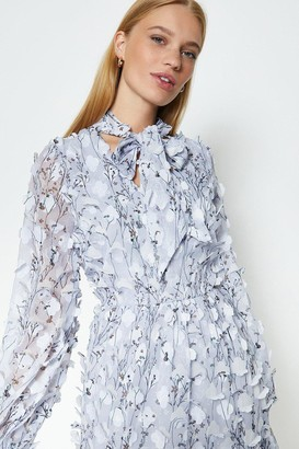 Coast Textured Tiered Dress