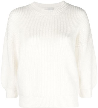 3.1 Phillip Lim Ribbed crew neck pullover
