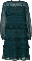 M Missoni frill trim dress - women - Cotton/Polyamide/Polyester/Viscose - 42