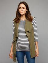 A Pea in the Pod Splendid Open Front Challis Maternity Vest