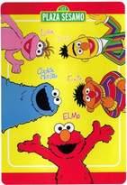 Sesame Street store51 Plush Twin Blanket Plush Elmo Amigos Bed Cover