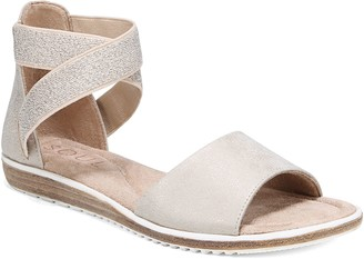 Naturalizer Soul Ankle Straps Slingback Sandals- Willa