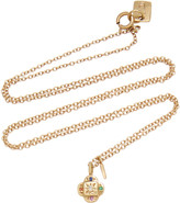 Scosha SCOSHA Endless Knot 10K Gold And Multi-Stone Necklace