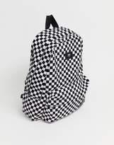 Vans Old Skool Ii Checkerboard Backpack In Black Vonihu0