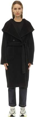Tagliatore Daisy Hooded Alpaca & Wool Coat