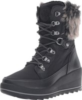 GUESS Leland Lace-Up Wedge Boots