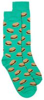 Topman Green Giant Burger Socks