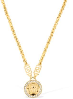 Versace Icon Medusa Crystal Necklace