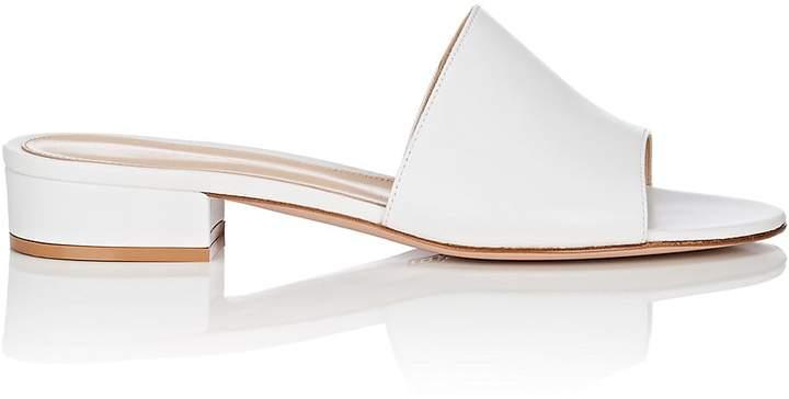 Gianvito Rossi Women's Capri Leather Slide Sandals