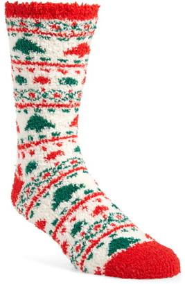 Nordstrom Fair Isle Butter Socks