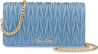 Miu Miu Matelassé mini cross body bag