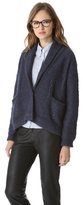 Band Of Outsiders Cash Cable Knit Cardigan