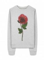 Christopher Kane Enchanted Rose Sweatshirt