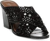 Donald J Pliner Gilian Block-Heel Slides