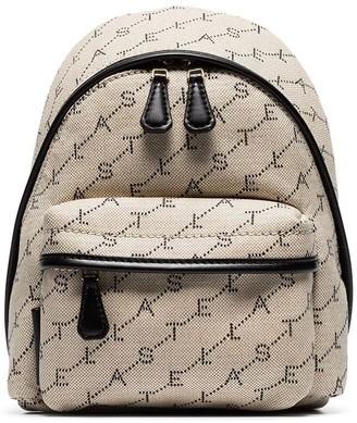 Stella McCartney Mini Monogram Cotton Backpack