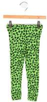 Mini Rodini Girls' Leopard Print Jersey Knit Leggings