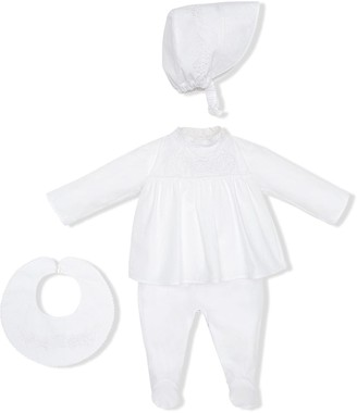 Fendi Kids Bunx romper suit
