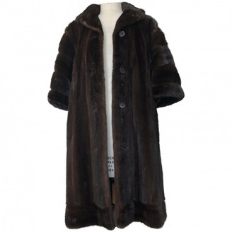 Fendi Brown Mink Coat for Women Vintage