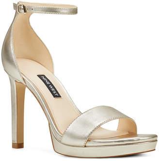 Nine West Edyn Platform Sandals Women Shoes
