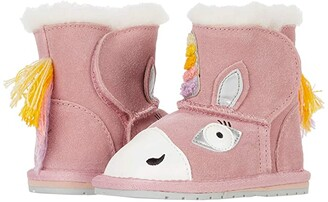 Emu Magical Unicorn Walker (Infant) (Pale Pink) Girl's Shoes