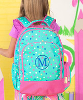 Designs By Two Greek Sisters Designs by Two Greek Sisters Backpacks - Blue & Pink Personalized Lottie Backpack