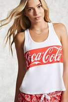 Forever 21 FOREVER 21+ Coca-Cola Graphic PJ Tank Top