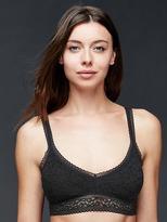 Gap Super soft lace pullover bra