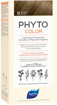 Phyto Hair Colour by Phytocolor - 8 Light Blonde 180g