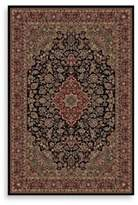 Bed Bath & Beyond Concord Global Medallion Kashan Black 7-Foot 10-Inch x 11-Foot 2-Inch Rug