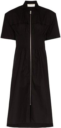 Alyx Zip-Up Midi Shirt Dress