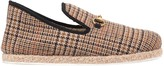 Gucci Men's check wool loafer