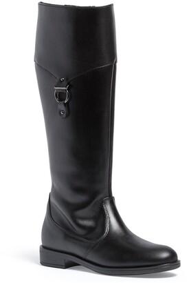 Italian Shoemakers Gilda Leather Knee-High Boot