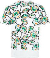 Marni patterned T-shirt - men - Cotton - 44