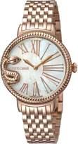 Roberto Cavalli OVERSIZED SNAKE Women's Swiss-Quartz Stainless Steel Bracelet Watch